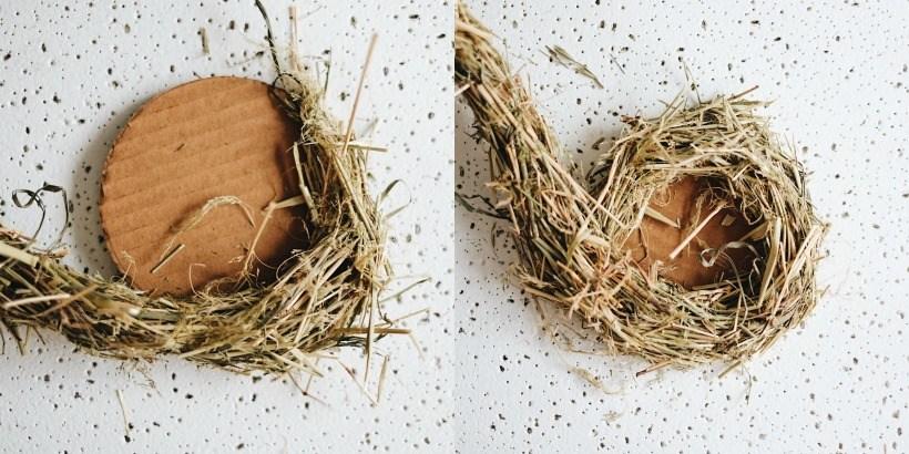Поделки своими руками гнездо с птенцами 3